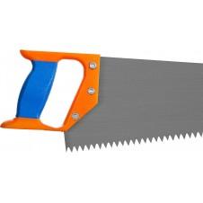 Ножовка 400мм с линейк.калёный зуб