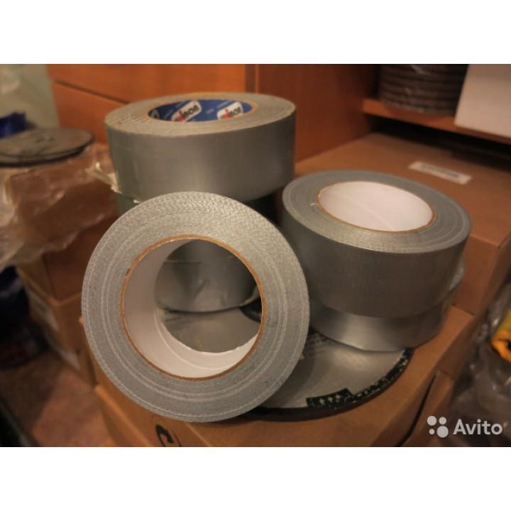 Скотч армированный серый 50 мм * 10 м