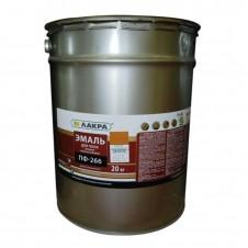 Эмаль ПФ-266 желто-коричневая 20кг НН