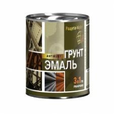 Грунт-эмаль по ржавчине 0,9 кг Радуга