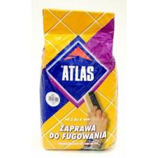 Затирка Атлас белая 001    2 кг