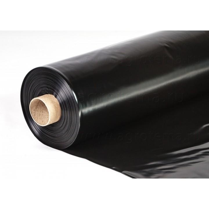 Пленка черная, рукав 1,5м, цена за м.п.