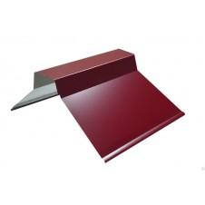 Конек фигурный для крыши окрашенный, 150*150, 2м