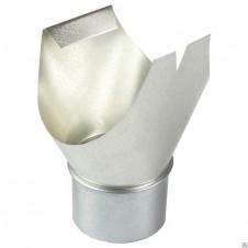 Воронка желоба цинк, выход на трубу d100