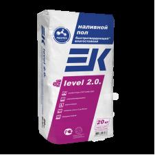 Смесь для пола ЕК LEVEL 2.0, 20 кг код 36040