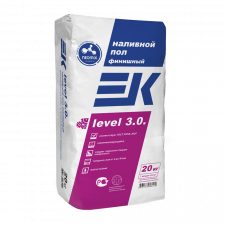Смесь для пола ЕК LEVEL 3.0, 20 кг финишная код 36018