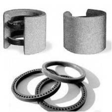 Муфта d 100 а/ц с резиновым кольцом